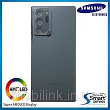 Крышка задняя Samsung Note 20 N980 Чёрная Black GH82-23299A оригинал!