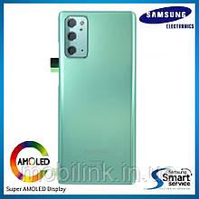 Крышка задняя Samsung Note 20 N980 Зелёная Green GH82-23299C оригинал!