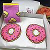 """Подарочный набор женский. Футболка с принтом """"Пончики"""", носки с принтом """"Пончики"""", фото 2"""