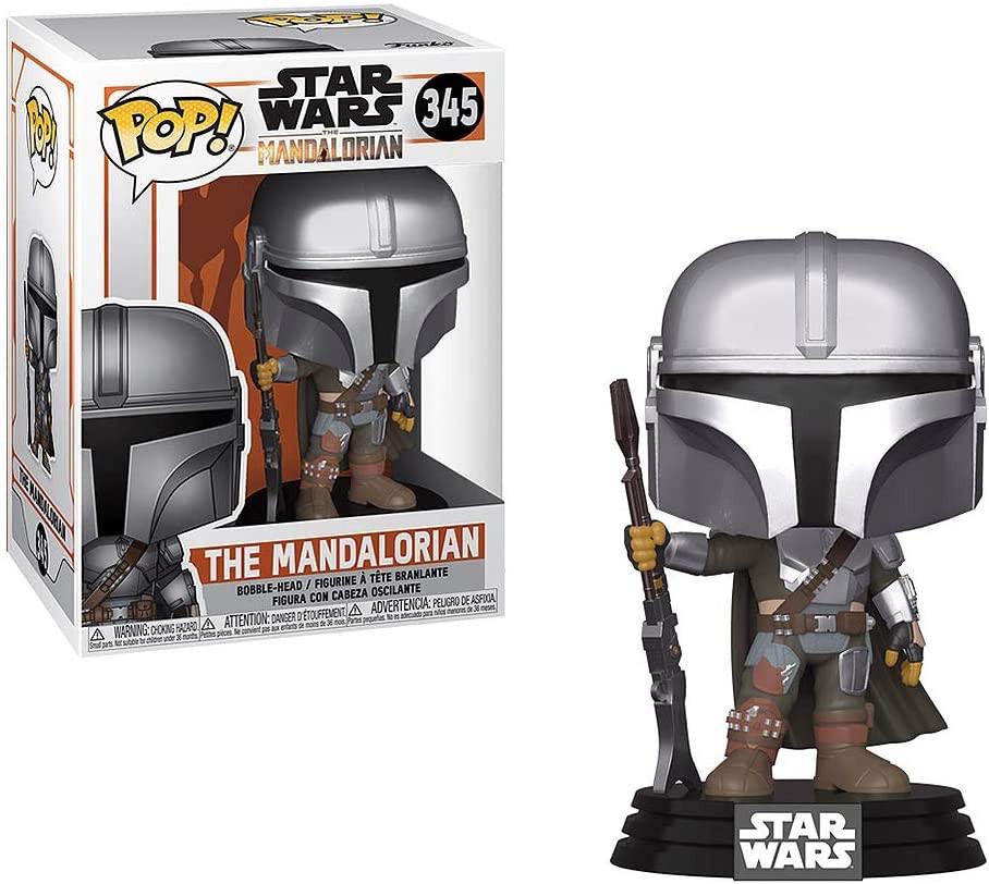 Фігурка Funko pop! ! Star Wars Mandalorian #345 / Мандалорець