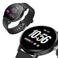 Smart Watch часыV 11, Фітнес годинник з IPS дисплеєм, тонометр, пульсометр, крокомір Чорні, фото 1