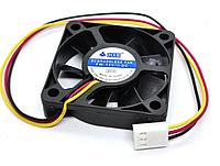 Кулер вентилятор в корпус 0.15А 12в 50x50x10 мм (5 см) 12в 3 pin пина, фото 1
