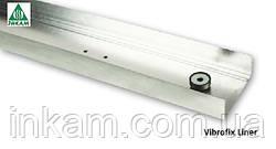 Профиль для гипсокартона Vibrofix Liner 100/40 мм усиленный звукоизоляционный