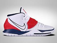 """Оригинальные мужские кроссовки Nike Kyrie 6 """"USA"""" (BQ4630-102), фото 1"""