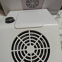 Вытяжка маниюрная пылесос 858-2 для маникюрного стола 80 вт