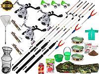 Набір для рибалки, подарунок чоловіку рибаку, Вудки і спінінги, спінінг з катушкою, готові набори для рибалки!