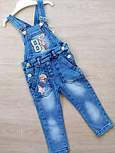 Комбинезон детский стильный джинсовый на мальчика 5-8 лет купить оптом со склада 7км Одесса