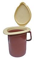 """Ведро туалет 16 литров (Биотуалет) """"Юнипласт"""""""