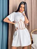 Сукня сорочка з корсетом BRT2534, фото 5