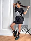 Сукня сорочка з корсетом BRT2534, фото 3