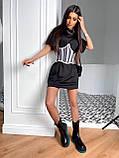 Сукня сорочка з корсетом BRT2534, фото 4