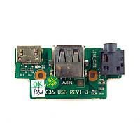 Плата Audio, HDMI, USB C35 USB REV1.3 БУ
