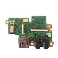 Плата Audio, Power, USB Toshiba Portege R830, R835, R930, R935 FAS2U32 A3273A БУ