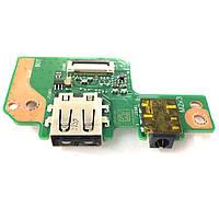 Плата Audio, USB Asus E402MA, E402NA, E402SA, L402MA, L402NA, L402SA, E502MA, E502NA, E502SA E402SA_IO REV.