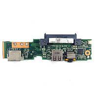 Плата Audio, USB, LAN, HDD Asus EeePC 1001P 69NA1PB10C02-01 БУ