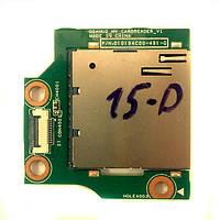 Плата Card Reader HP Pavilion 15-D, Compaq 250 G2, 255 G2 БУ