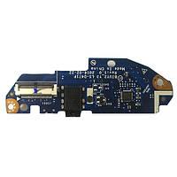 Плата Card Reader, Audio, кнопка включения Lenovo Yoga 710-14ISK, 710-15ISK LS-D471P Rev:1.0 БУ
