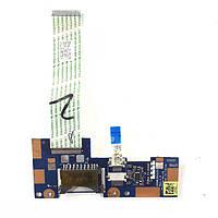 Плата Card Reader, кнопки тачпада Toshiba Satellite C50-B, C50D-B, C55-B, C55D-B, C50T-B, C55T-B ZSWAA
