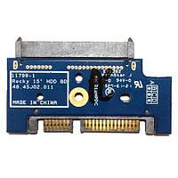 "Плата SATA HP ProBook 4540s, 4545s 11799-1 Rocky 15"" HDD BD 48.4SJ02.011 БУ"