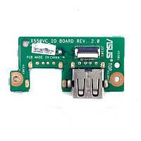 Плата USB Asus X550CA, X550CC, X550LA, X550VC X550VC IO BOARD REV. 2.0 БУ