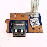 Плата USB Dell Inspiron 3521, 3531, 3537, 5521, 5537, Latitude 3540 VAWOO LS-9102P Rev:1.0 (со шлейфом) БУ