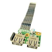 Плата USB HP Compaq 650, 655, CQ58 NEWTON_MV_USB_V1, 01016YY00-600-G (со шлейфом) БУ