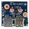 Плата USB HP Pavilion dv6-6000, dv7-6000 48.4RH05.021, HPMH-41-AB630S-C00G БУ