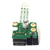Плата USB HP Pavilion g4-2000, g6-2000, g7-2000 DAR33TB16C0 (со шлейфом) БУ