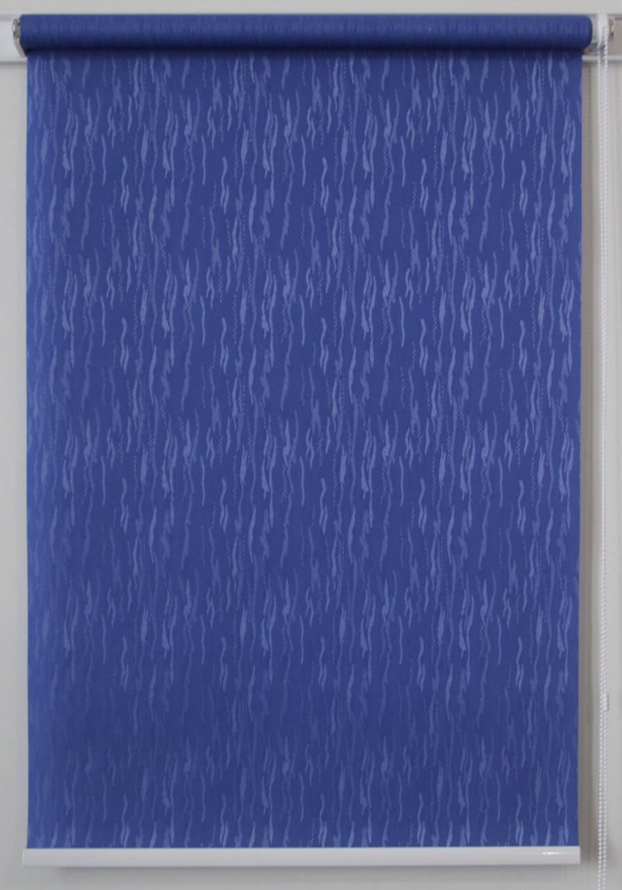 Рулонная штора Лазурь Синий
