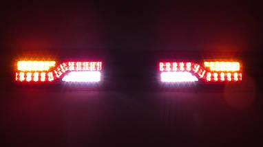 Светодиодные LED стопы для тюнинг ВАЗ 2101 фонари ГАЗель задние стопы на прицеп, фото 2