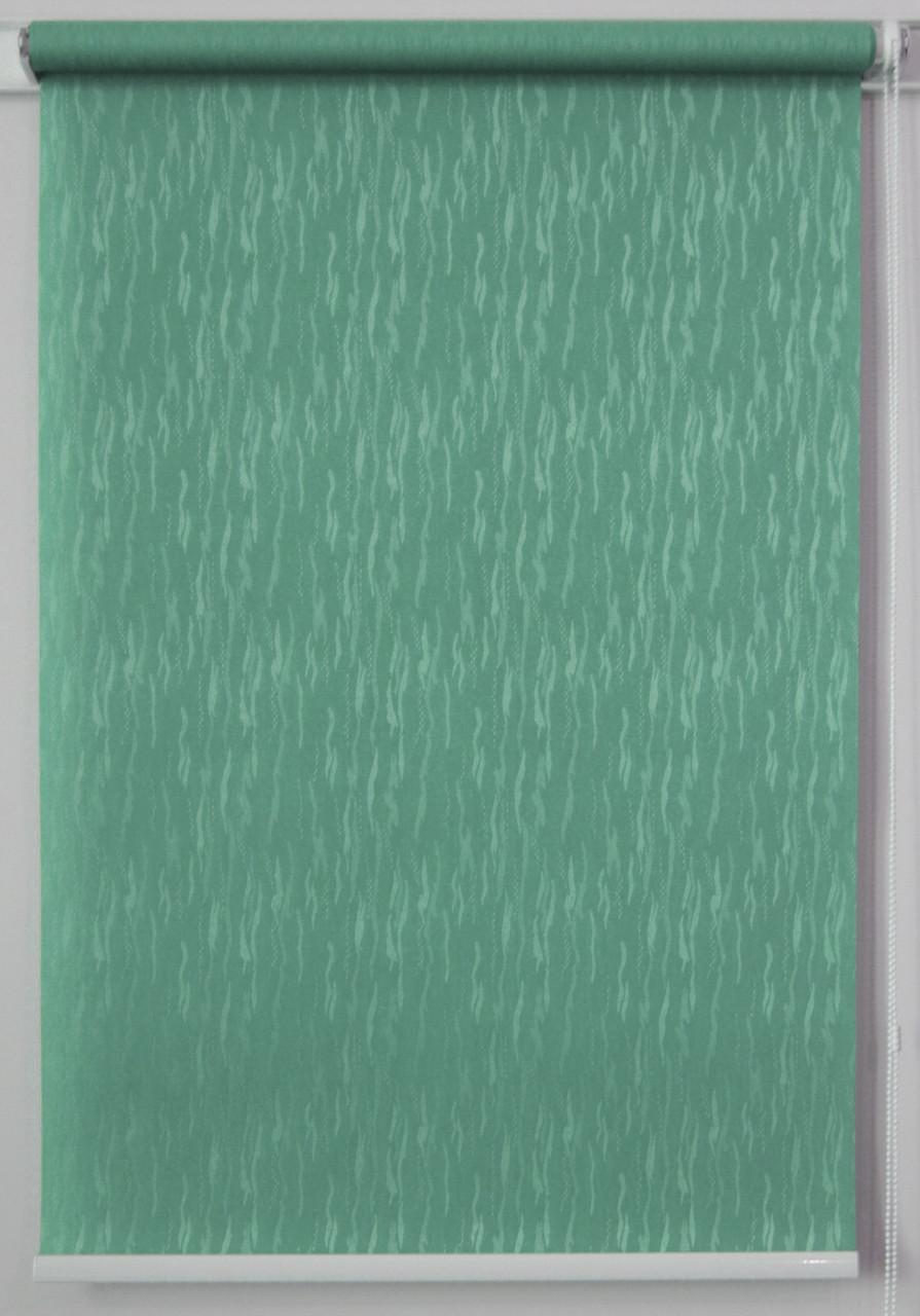 Рулонна штора Лазур Зелений
