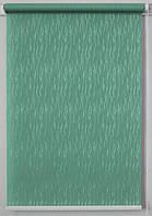 Рулонна штора Лазур Зелений, фото 1