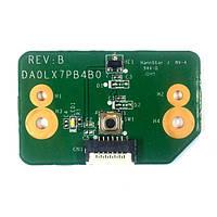 Плата кнопки включения HP Pavilion dv7-4000 DA0LX7PB4B0 REV:B БУ
