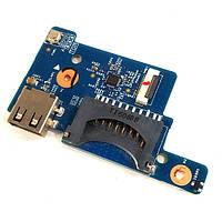 Плата кнопки включения, Card Reader, USB Acer Aspire ES1-512, ES1-531, Extensa EX2519 DOMINO_BH CARD DB