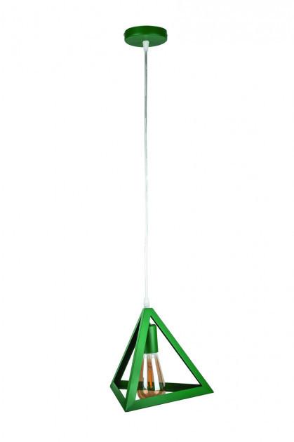 Люстра підвісна на один плафон 756PR220-1 GREEN