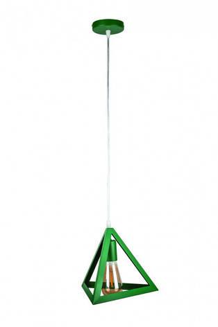 Люстра підвісна на один плафон 756PR220-1 GREEN, фото 2