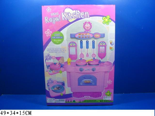 Дитяча іграшкова кухня з посудом і продуктами арт.3362