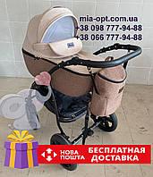 Детская коляска 2 в 1 Classik Len (Классик Лен) Victoria Gold беж