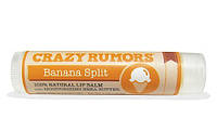 "Бальзам для губ Crazy Rumors Banana Split ""Банановый сплит"""