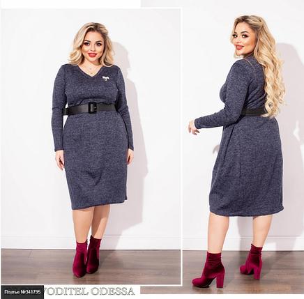 Платье ангора софт Размеры: 50-52, 54-56, 58-60, 62-64, фото 2