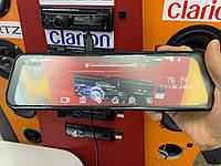 Зеркало-видеорегистратор GLOBEX GE-802WGR (Radar Detector) + карта памяти 32Гб в подарок