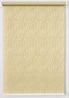 Рулонная штора 1300*1500 Лазурь Ваниль, фото 1