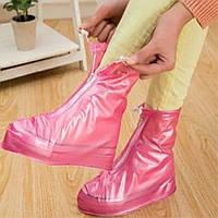 Чехлы на обувь от дождя и грязи 2Life (30455) Розовые