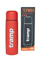 Термос Tramp Basic красный 0,75 л, фото 1