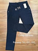 Лосіни жіночі чорні (р 48/50/52/54) Тканина дайвінг