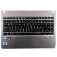 Корпус Asus Q400A (верхняя часть) с клавиатурой (англ) БУ, фото 1