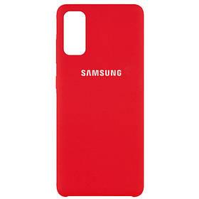 Чохол Silicone Cover (AAA) для Samsung Galaxy S20