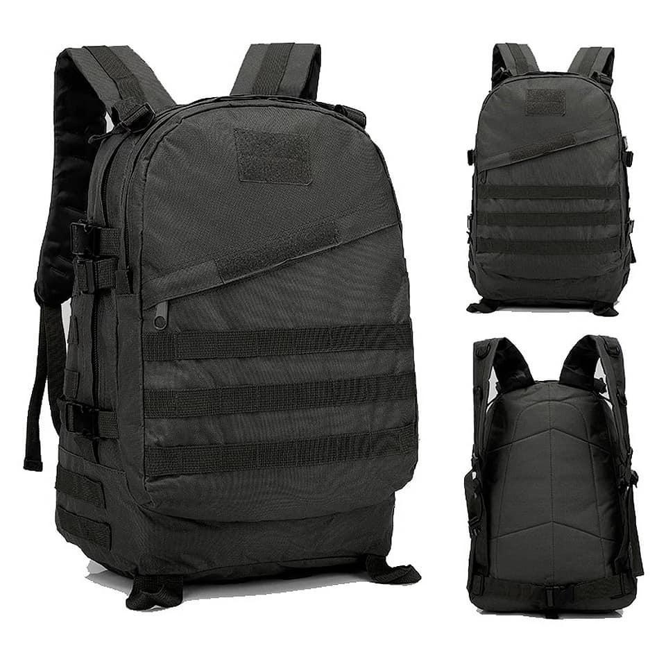 Рюкзак тактичний на 45літрів в чорному кольорі