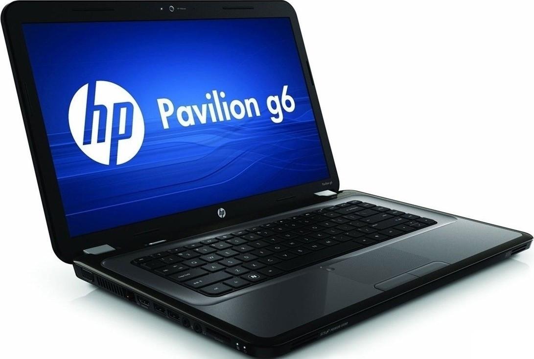Ноутбук HP Pavilion G6-1214so-AMD E2-3000M-1.8GHz-4Gb-DDR3-320Gb-HDD-W15.6-Web-DVD-R-(C-)- Б/У