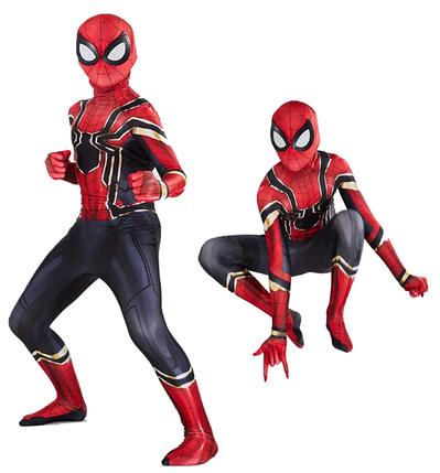 Костюм Железный человек - паук ABC спандекс ВЗРОСЛЫЙ S (165-170 см), фото 2